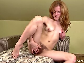 Krista shows herself off as she's feeling wet hd hairy