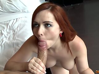 Angell Summers is a sweet, red haired chick who likes to have gentle anal sex quite often big ass anal
