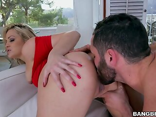 Cocinando blonde big ass
