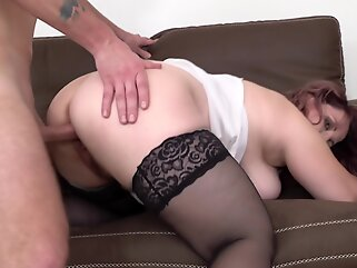Big Breasted and Curvy Mature Suzie Loves the Cock big tits big ass