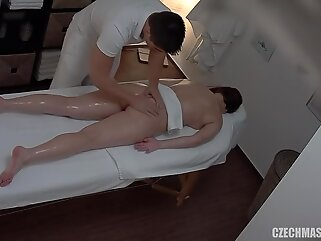 CzechMassage - Massage E116 brunette big tits